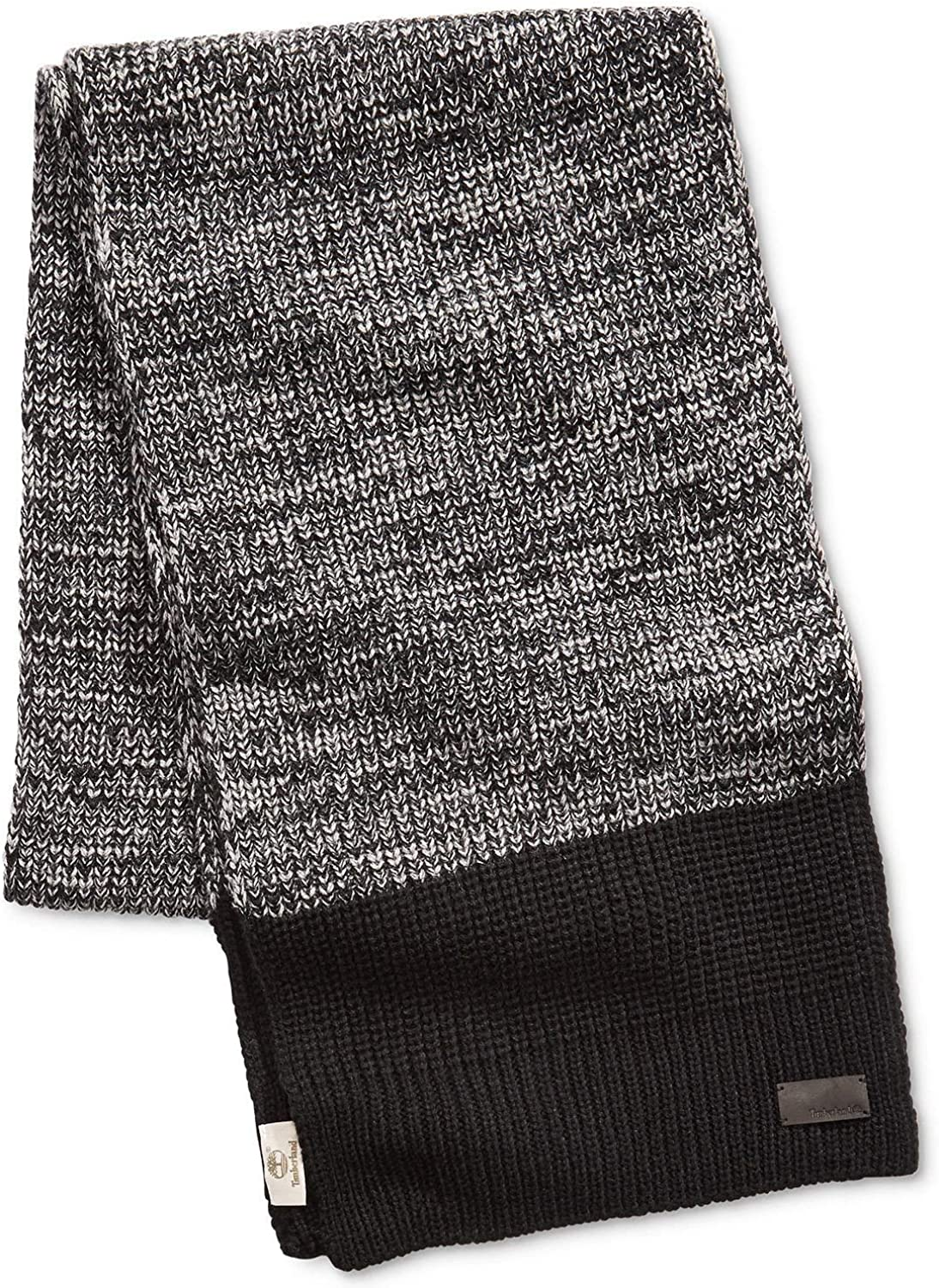 Timberland Marled Shaker Scarf with Color block