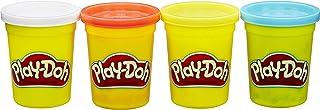 Hasbro 孩之宝 Play-Doh 培乐多彩泥 四色装新版 (蓝黄橘白)B6508