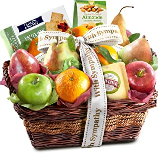 Sympathy Classic Gourmet Fruit Basket Gift