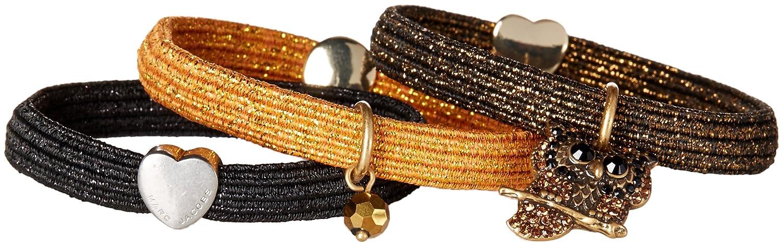 マークジェイコブス ヘアゴム Owl Cluster Hair Ties(Gold Multi) MARC JACOBS【並行輸入品】