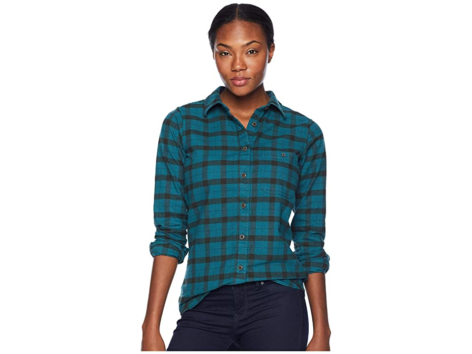 Filson Alaskan Guide Shirt (Emerald Forest) Women
