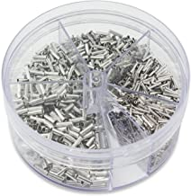 100 Pieces for Audio Stereo Volume Switch Control Assortment Kit 5 Values 1-50K Aussel 16x2mm 5Pin Dual Dial Taper Wheel Duplex Potentiometer