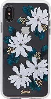 Sonix Delilah Flower Case for iPhone Xs Max [Military Drop Test Certified] Women's Protective White Flower Floral Clear Case Series for Apple iPhone Xs Max