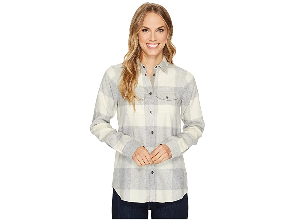 Fjallraven Canada Shirt (Fog/Chalk White) Women
