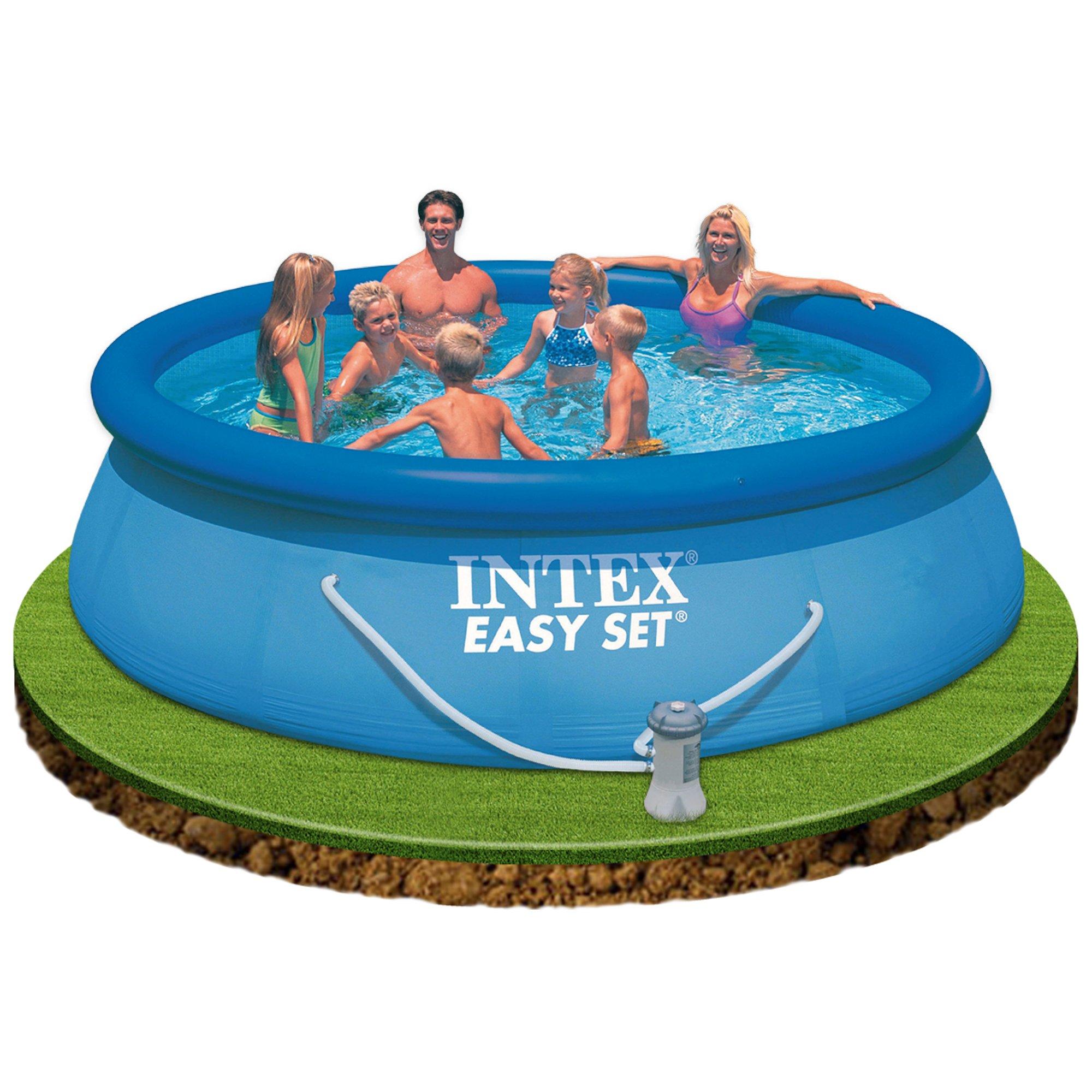 Intex Piscina Easy Set 366 cm x 76 cm Con depuradora: Amazon.es: Hogar