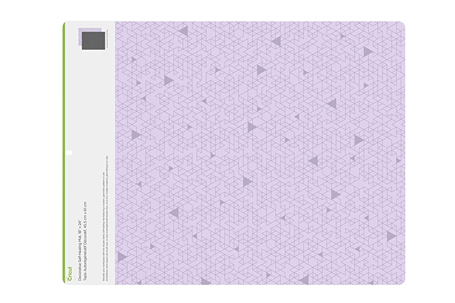 Cricut 2004715 Deco Self Healing Mat, 18x24-Inches, Lilac