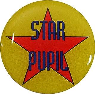 étoile pupille badge à épingle avec Livraison gratuite: Lot de 5 jaune