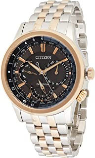 CITIZEN Mens Solar Powered Watch, Analog Display and Stainless Steel Strap BU2026-65H