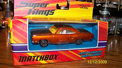 1970 Plymouth Road Runner Matchbox Classic Super Kings K-207 by Matchbox