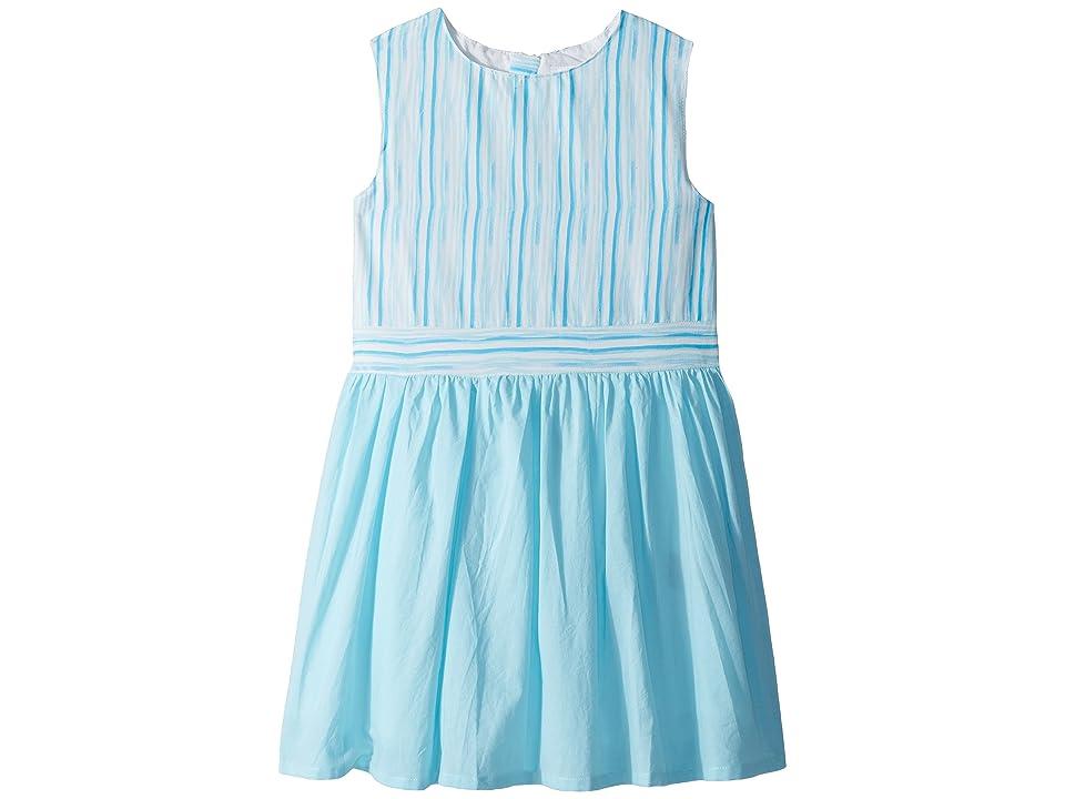 Toobydoo Aqua Blue Garden Party Dress (Toddler/Little Kids/Big Kids) (Aqua) Girl