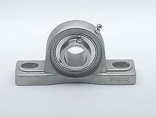 Setscrew Locking Collar 1-15//16 Base to Center Height Non-Expansion Type 5-3//8 Bolt Hole Spacing Width Sealmaster NP-24 Pillow Block Ball Bearing 1-1//2 Bore Regreasable Cast Iron Housing Normal-Duty Felt Seals