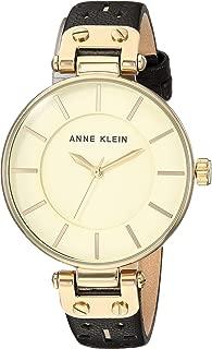 Anne Klein Women's AK-3050CHBK Black/Gold-Tone One Size