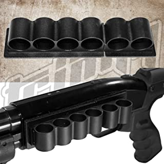 Trinity 6 Round Shotshell Shell Holder for Maverick 88 Pump Shells Carrier Hunting Accessory Holder 12 Gauge Tactical Shell Pouch Ammo Shell Round slug Carrier Reload Adapter Target Range Gear.