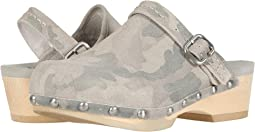 Taupe Camo Cow Suede