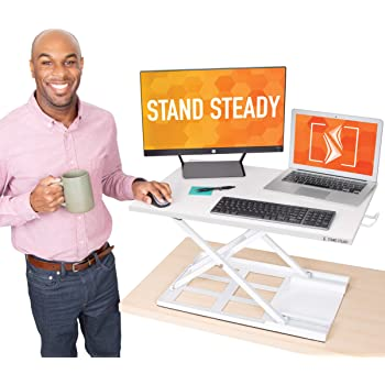 """Stand Steady X-Elite Pro Standing Desk Converter 