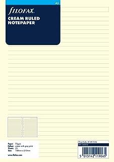 Filofax A5 Cream Ruled Notepaper