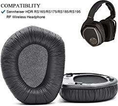 Defean HDR165 HDR175 HDR185 HDR195 HDR RS 165 RS 175 RS 185 RS 195 Ear Pads Replacement Cushion Foam for Sennheiser HDR RS165,RS175, RS185,RS195 RF Wireless Headphone