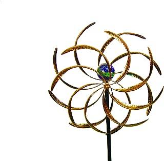 Echo Valley 4353W Illuminarie Leaf Dual-Motion Windwheel, 15.75 by 5 by 45-Inch