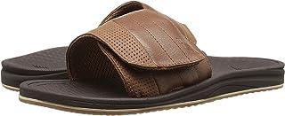 (ニューバランス) New Balance メンズサンダル?靴 Purealign Recharge Slide Brown 8 (26cm) 4E - Extra Wide