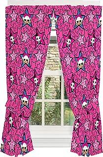Franco Kids Room Window Curtain Panels with Tie Backs Drapes Set, 82