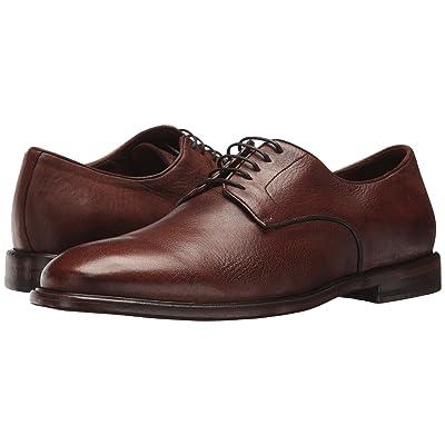 Frye Fisher Oxford (Cognac Deer Skin Leather) Men