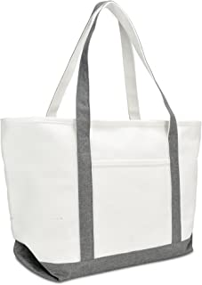 Best canvas zipper tote Reviews