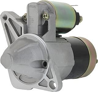 Gladiator New Premium Starter 12 Volt fits Mazda Protege5 1.8L 2.0L L4 Engine Automatic 1999 2000 2001 2002 2003 M0T82281 FP50-18-400 336-1704 LRS01395 4N6801 244-6801 DRS0760 91-27-3274N