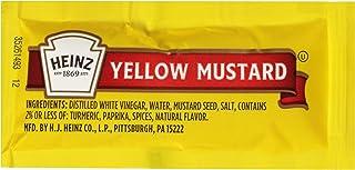 Heinz Mild Mustard Single Serve Packet (0.2 oz Packets, Pack of 200)