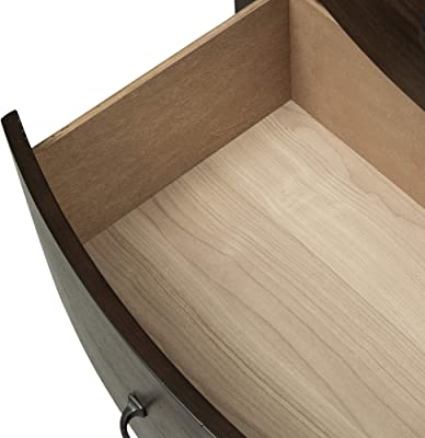 Liberty Furniture Industries Avalon Dresser & Mirror, W64 x D19 x H76, Medium Brown