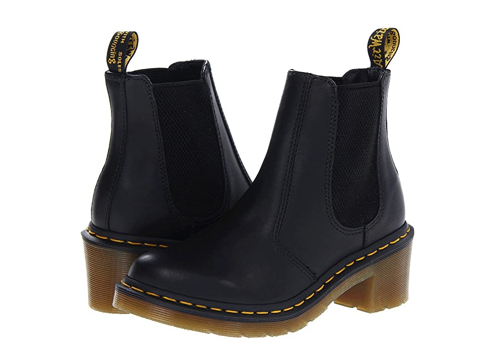 Dr. Martens Cadence Chelsea Boot (Black Greasy) Women