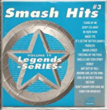 LEGENDS #019 SMASH HITS Vol. 3 Karaoke CD+G Disk 16 Party Songs