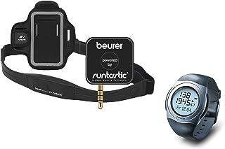 Beurer 676.16 Onpack - Transmisor de frecuencia cardíaca para Smartphones y pulsómetro, Color Gris