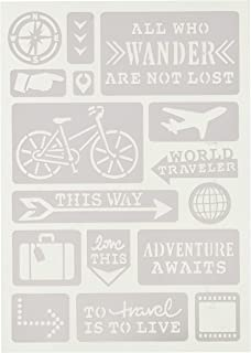 Momenta All Who Wander Adhesive Stencil