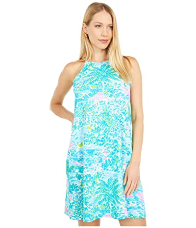 Lilly Pulitzer Margot Dress (Gustavia Green Sunshine City) Women