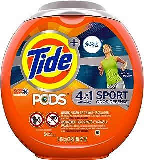 Tide pods odor defense 4 en 1, 1.54 k con 54 capsulas