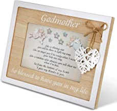 Godmother Frame 4x6 Perfect Godmother Gift from Godchild Beautiful Quality Picture Frame Keepsake Godparent Gifts