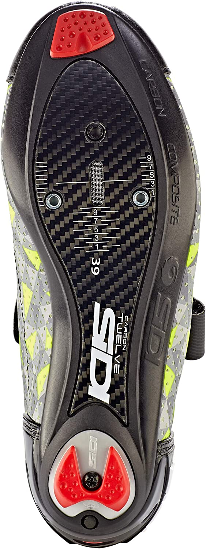 Scape Cycling Men SIDI Shoes T-5 Air 48 Grey Yellow Black