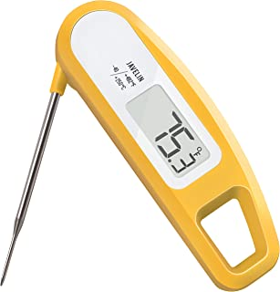 Lavatools PT12 Javelin Digital Instant Read Meat Thermometer for Kitchen, Food Cooking, Grill, BBQ, Smoker, Candy, Home Brewing, Coffee, and Oil Deep Frying (Butter)