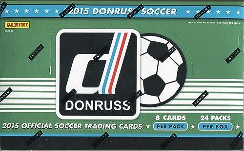 Factory Sealed Donruss Soccer 2015 Hobby Box
