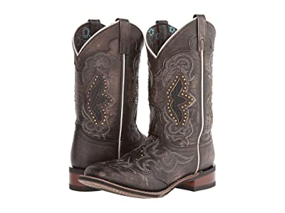 Laredo Spellbound (Black/Tan) Cowboy Boots