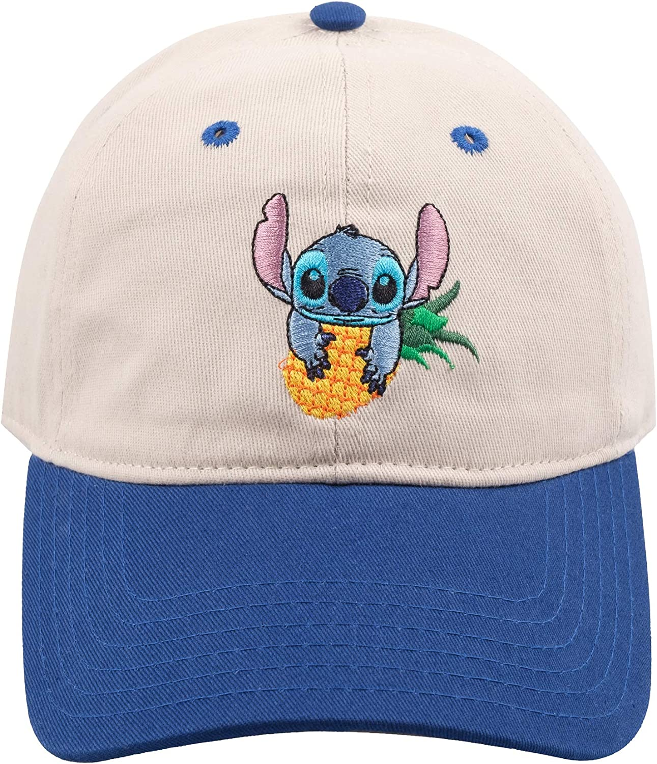 Concept One Disney's Stitch It is very popular Adjustable Hat Brim Dad Curved with National products