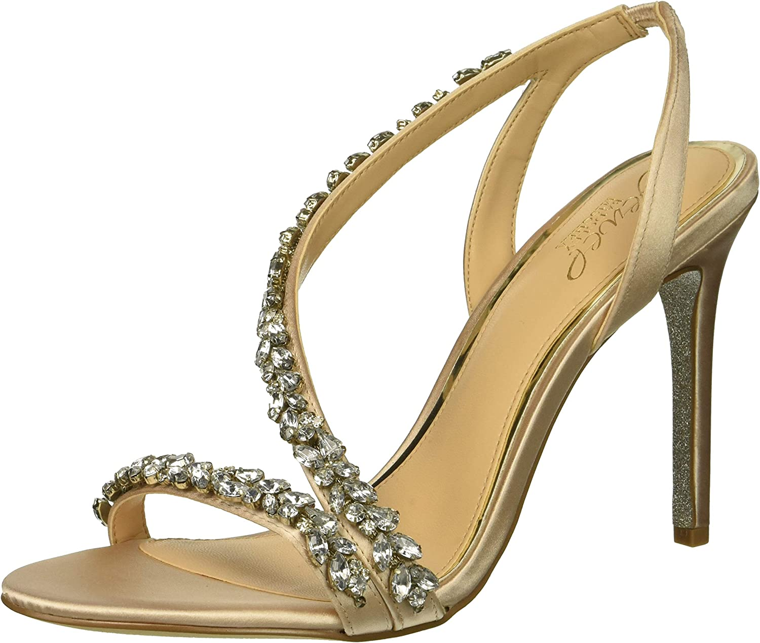 Badgley Mischka Womens Java Heeled Sandal