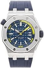 Audemars Piguet Royal Oak Offshore Mechanical (Automatic) Blue Dial Mens Watch 15710ST.OO.A027CA.01 (Certified Pre-Owned)