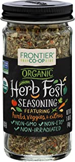 Frontier, Seasoning Blend Herb Fest Organic, 1.4 Ounce