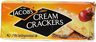 Jacob's Cream Crackers 7.05 Oz,Pack of 4
