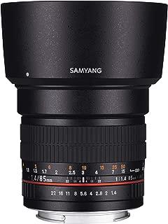 SAMYANG 単焦点 レンズ 85mm F1.4 キヤノン EF用 フルサイズ対応