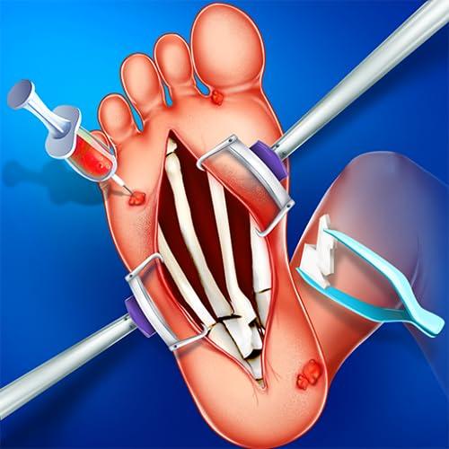 Fußsohle Chirurgie Simulator & Spa Salon - Kostenlose Notfall-Doktor-Spiele