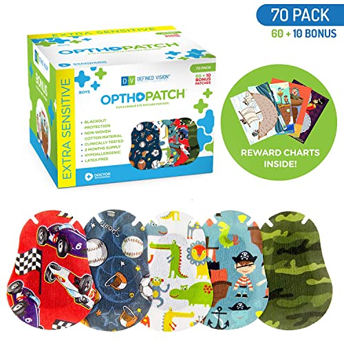 Eye Patches For Kids With Lazy Eye: Amazon.com
