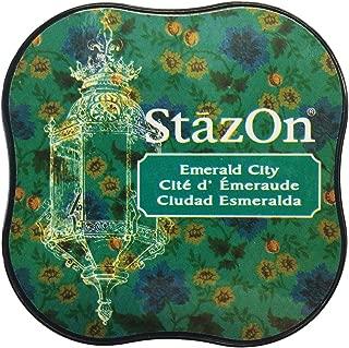 Tsukineko StazOn Midi Ink Pad, Emerald City