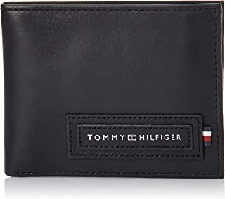 Tommy Hilfiger Modern Card Case Wallet & Key Fob Wallets, Black, AM0AM05670